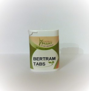~ Bertram w tabletkach 20 g.